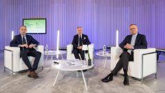 Da sinistra a destra: Michele Crisci UNRAE, Paolo Scudieri ANFIA e Adolfo De Stefani Cosentino Federauto