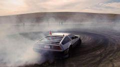 Da Stanford la DeLorean elettrica che drifta senza pilota