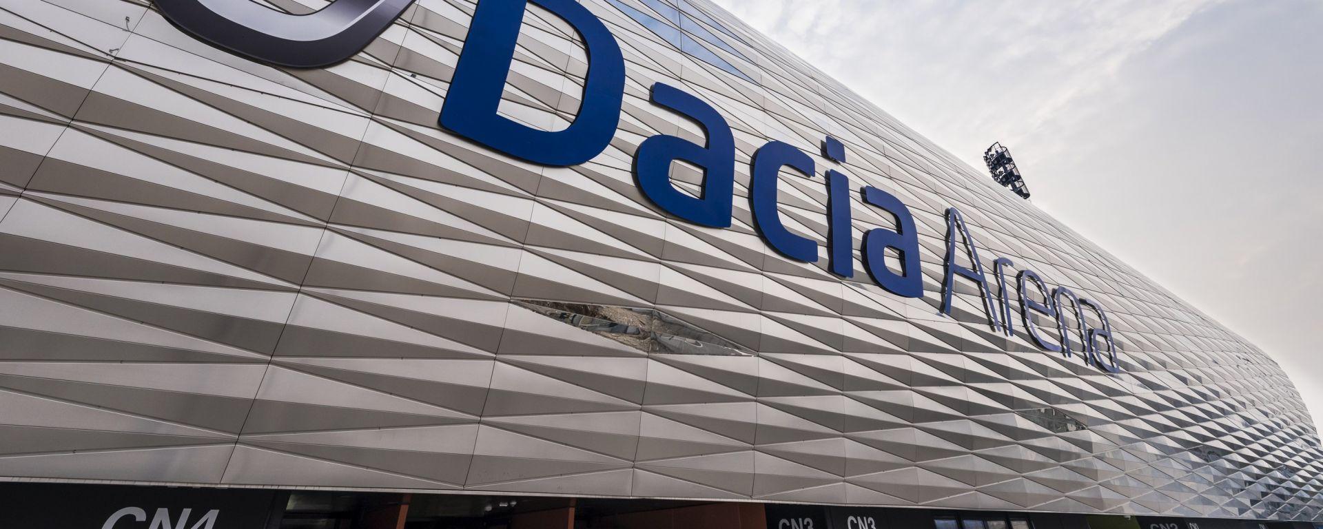 Dacia Arena: uno stadio full optional