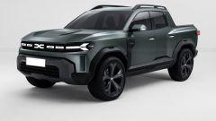 Dacia Bigster diventa pickup: il rendering di KDesign AG