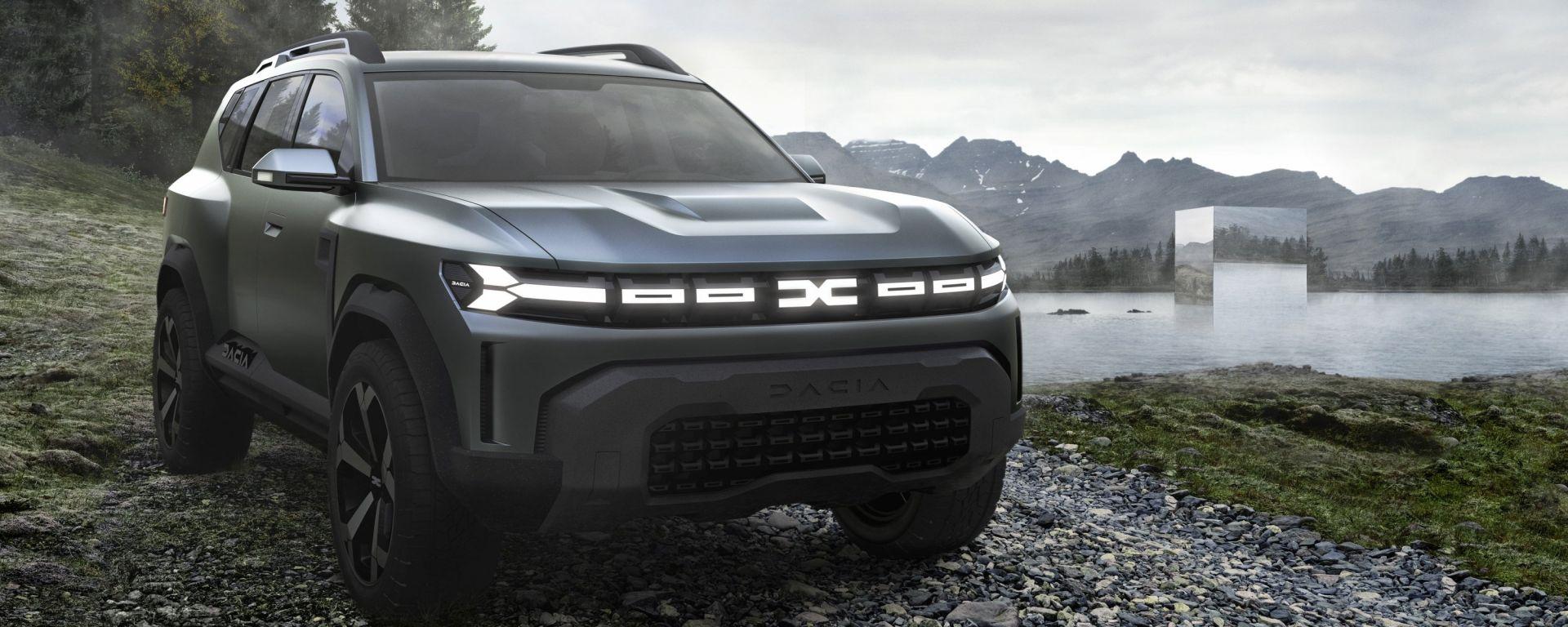 Dacia Bigster: il concept che anticipa il nuovo C-SUV rumeno