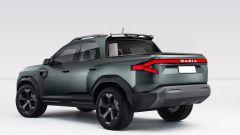 Dacia Bigster: il rendering di KDesign AG ne ha fatto un pickup
