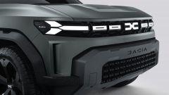 Dacia Bigster: la nuova calandra