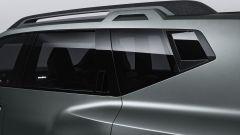 Dacia Bigster: la terza luce posteriore