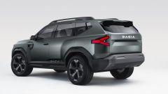 Dacia Bigster: visuale di 3/4 posteriore