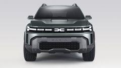 Dacia Bigster: visuale frontale