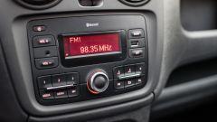 Dacia Dokker Pickup: di serie radio CD, Bluetooth e USB