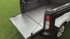Dacia Dokker Pickup: il cassone è interamente rivestito in alluminio