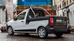 Dacia Dokker Pickup: la soglia di carico è a 61 cm da terra