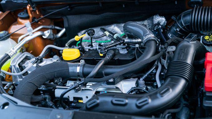 Dacia Duster TCe 100 potenza del turbo!