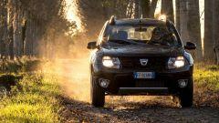 Dacia Duster 1.6 GPL Black Shadow: vista frontale