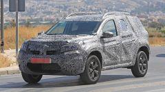 Dacia Duster 2018, le foto spia