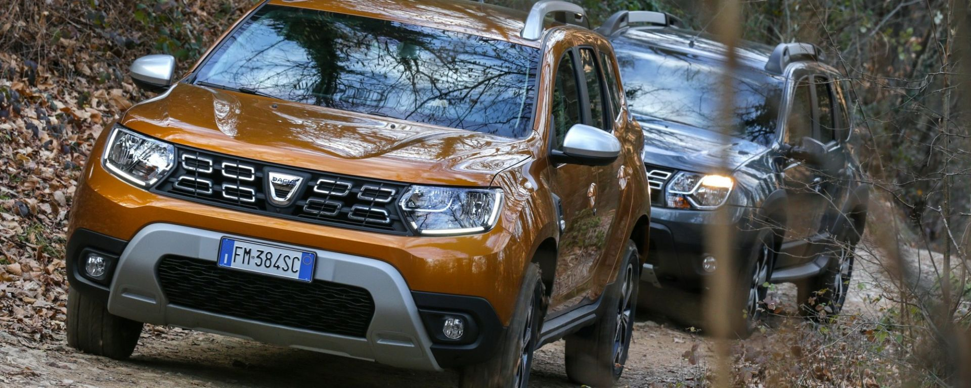 Dacia Duster 2018 vs Dacia Duster Brave2 in offroad