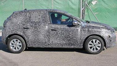 Dacia Duster 2021: vista laterale