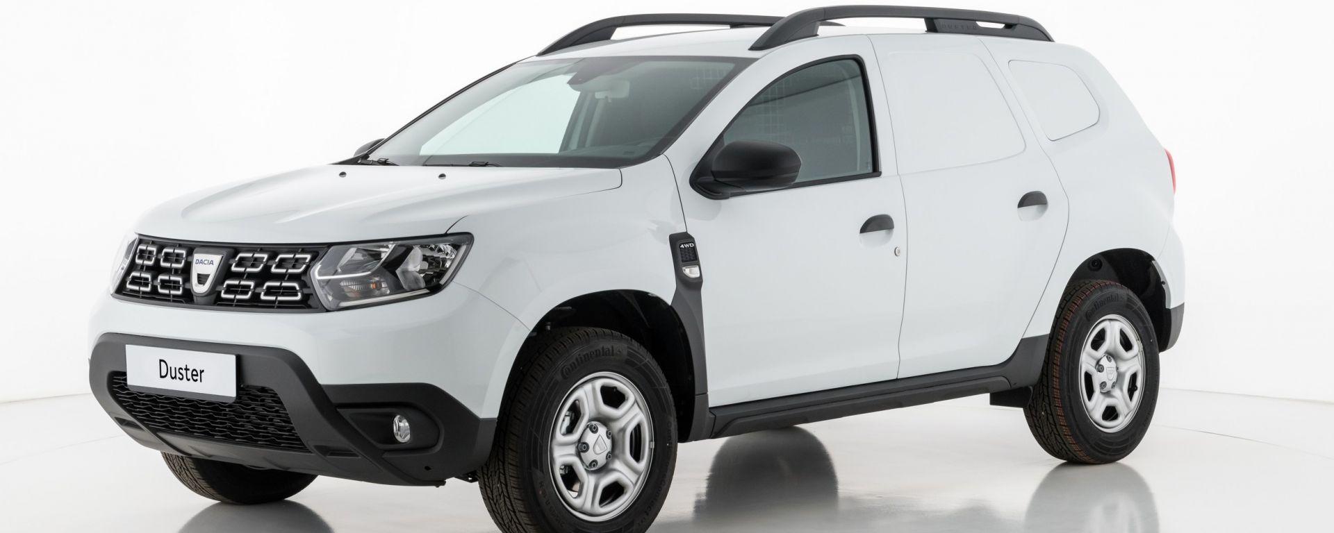 Dacia Duster Fiskal: debutta la versione van della nuova Duster