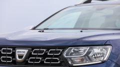 Dacia Duster GPL 2018: dettaglio del frontale