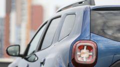 Dacia Duster GPL 2018: i gruppi ottici posteriori