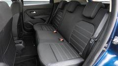 Dacia Duster GPL 2018: i sedili posteriori