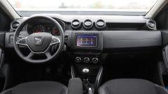 Dacia Duster GPL 2018: vista della plancia