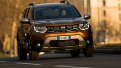Dacia Duster GPL: frontale