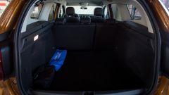 Dacia Duster GPL: il bagagliaio