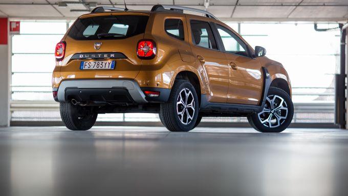 Dacia Duster GPL: il posteriore