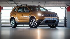 Dacia Duster GPL: la vista laterale