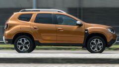 Dacia Duster GPL vista dinamica laterale