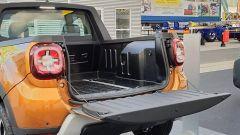 Dacia Duster Pickup by Romturingia: dettaglio della ribaltina