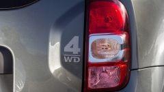 Dacia Duster prima serie, le luci di coda