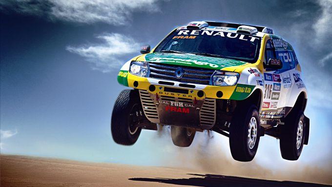 Dacia Duster versione Dakar