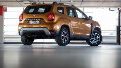 Dacia Duster: vista 3/4 posteriore