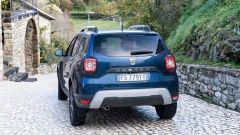 Dacia Duster, vista posteriore