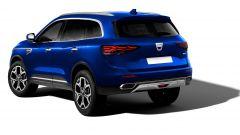 Dacia Grand Duster 2022: il posteriore