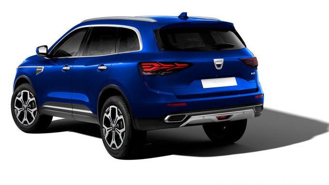 Dacia Grand Duster (2022), il rendering di Kleber Silva