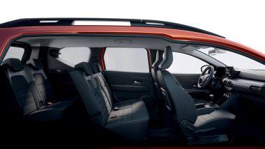Dacia Jogger, fino a 7 posti