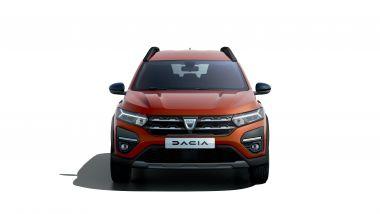 Dacia Jogger, il frontale