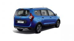 Dacia Lodgy Stepway 15th Anniversary: vista 3/4 posteriore