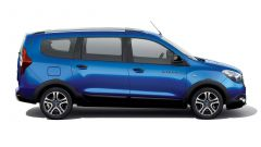 Dacia Lodgy Stepway 15th Anniversary: vista laterale