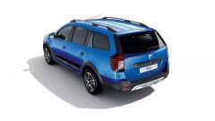 Dacia Logan MCV 15th Anniversary: vista 3/4 posteriore