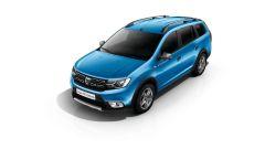 Dacia Logan MCV Stepway: griglia simile a quella della Duster