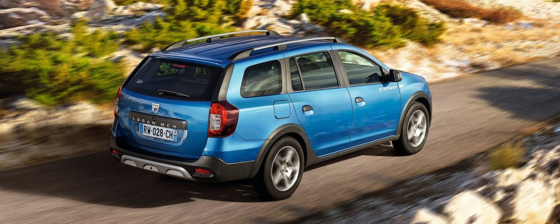 Dacia Logan MCV Stepway: ora anche alta da terra