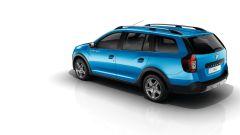 Dacia Logan MCV Stepway: modanature di protezione laterali per la parte inferiore della carrozzeria