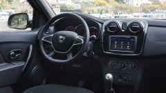 Dacia Sandero 1.0 SCe 75 CV: dettaglio della plancia
