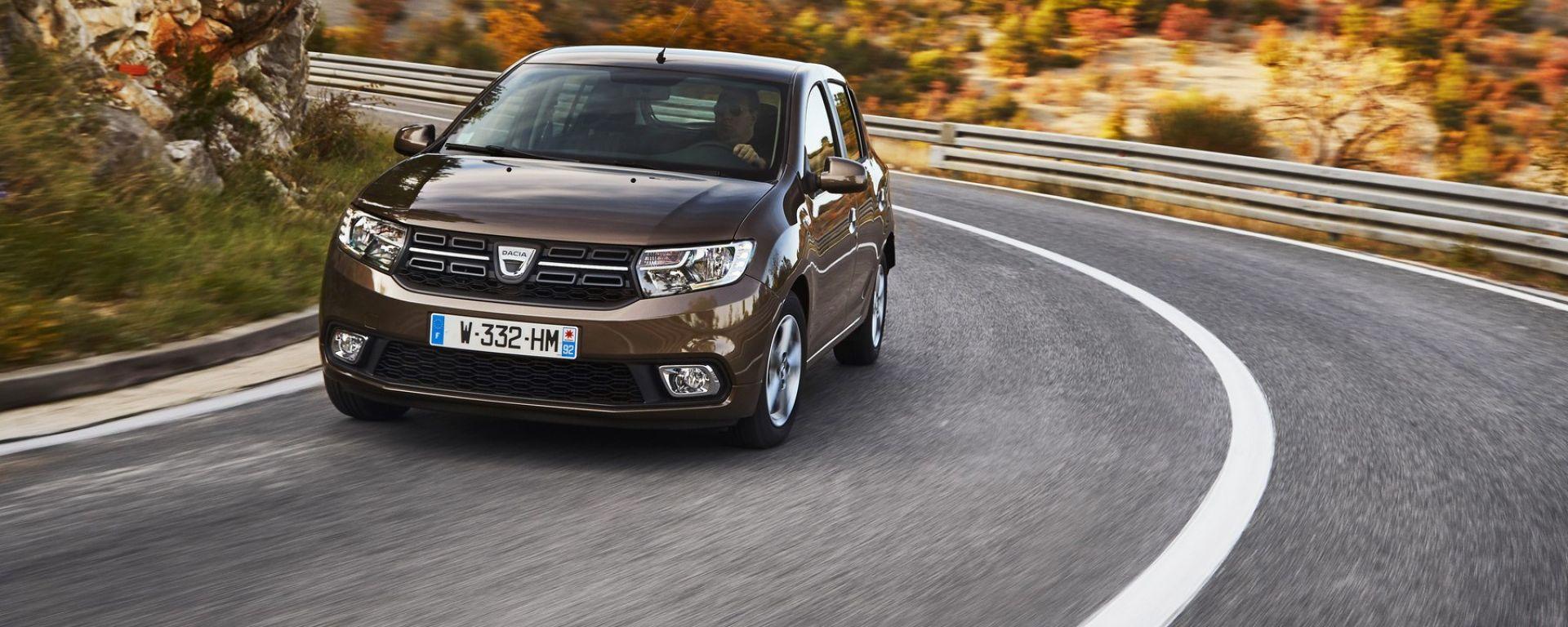 Dacia Sandero 1.0 SCe 75 CV: la prova su strada