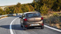 Dacia Sandero 1.0 SCe 75 CV: vita posteriore