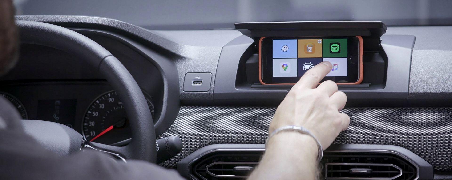 Dacia Sandero, come funziona il Media Control