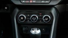 Dacia Sandero Comfort GPL: eleganti i comandi del climatizzatore