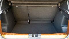 Dacia Sandero Comfort GPL: grande ma poco sfruttabile il baule