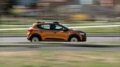 Dacia Sandero Comfort GPL: i 101 CV non mancano di brio